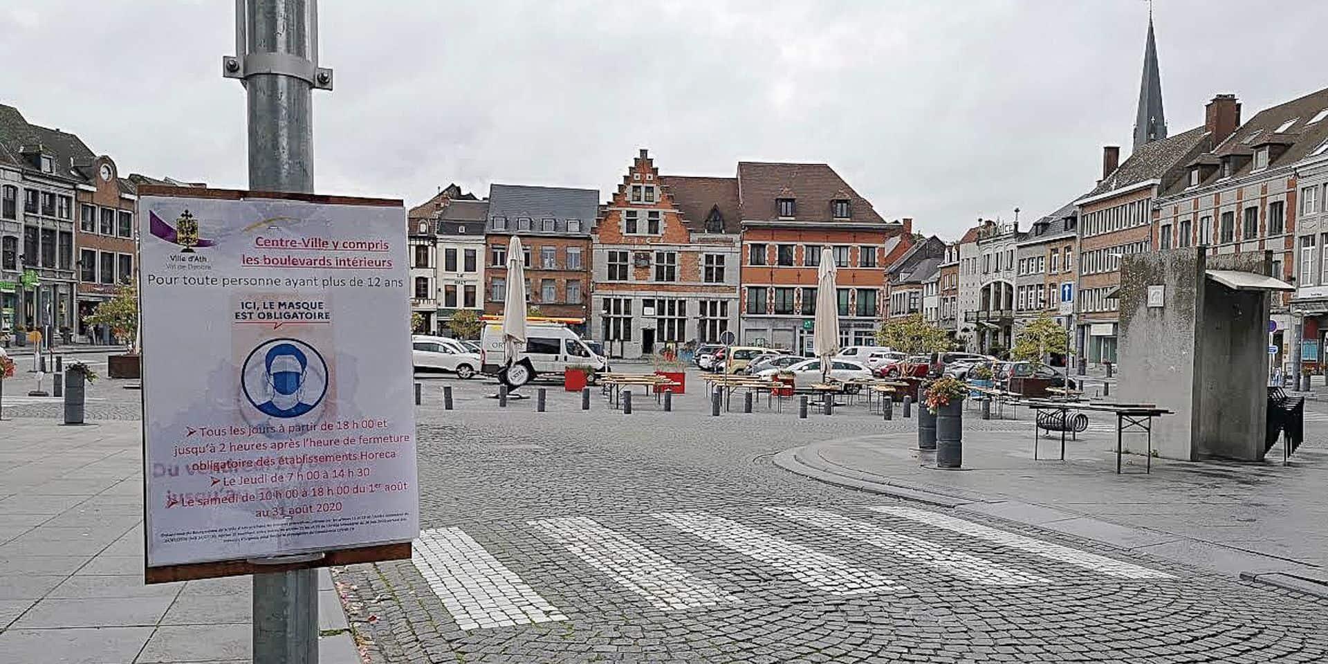 Ath: la crise du Covid a déjà coûté 762.000€ à la Ville !