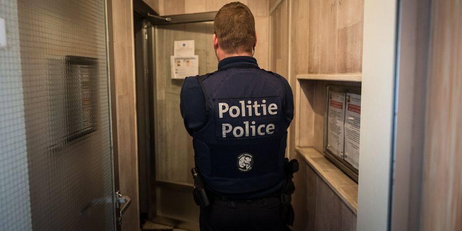 Manifestation de sans-papiers à Bruxelles : quatre arrestations administratives
