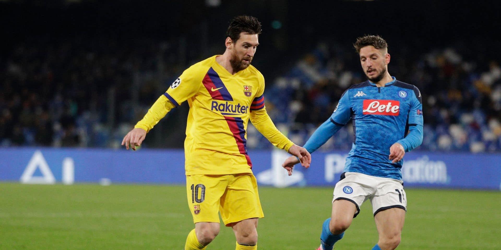 """Dries Mertens impatient de défier Barcelone: """"Tout peut arriver"""""""