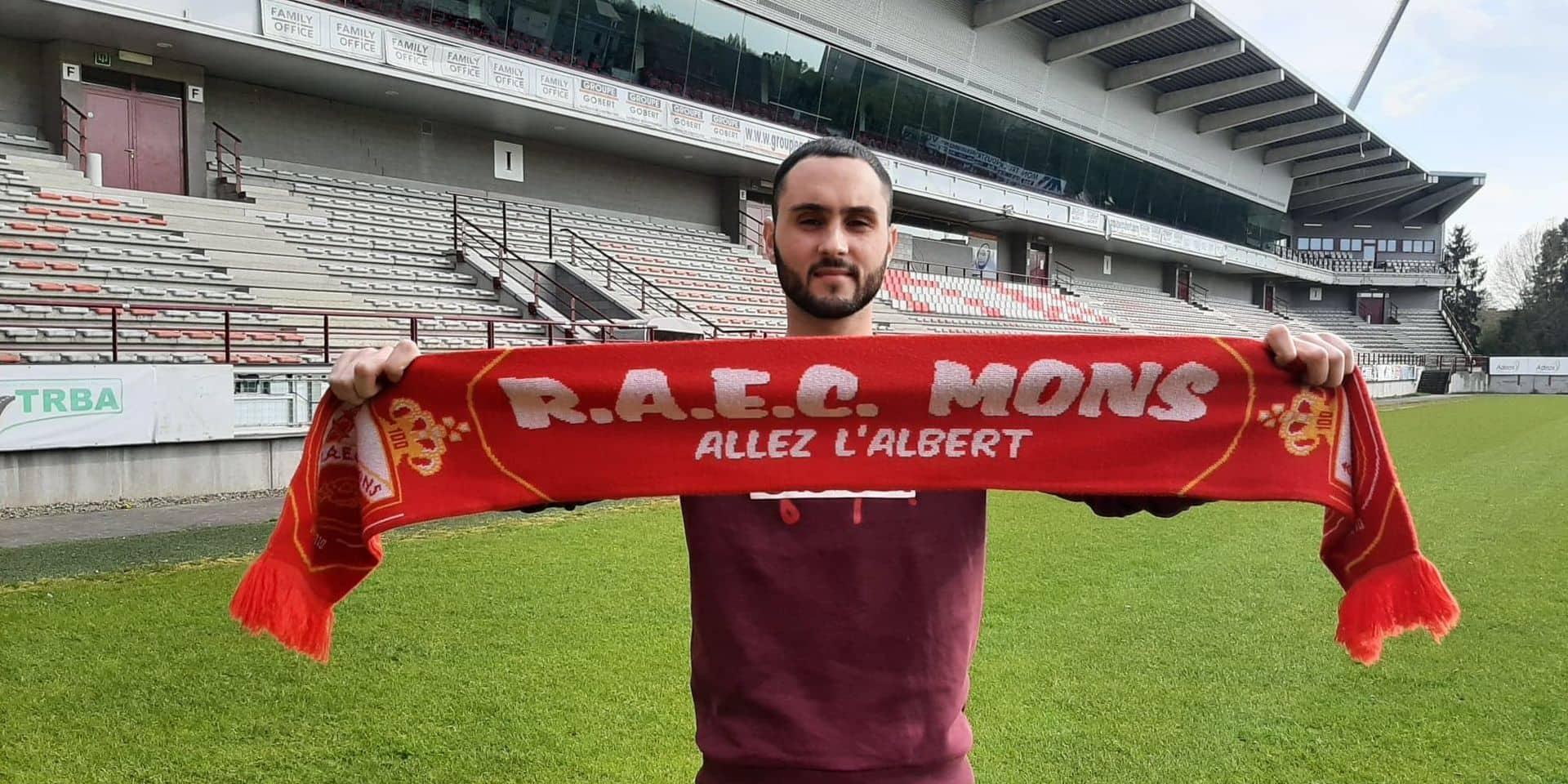 Le RAEC Mons fait revenir Pietro Aquila