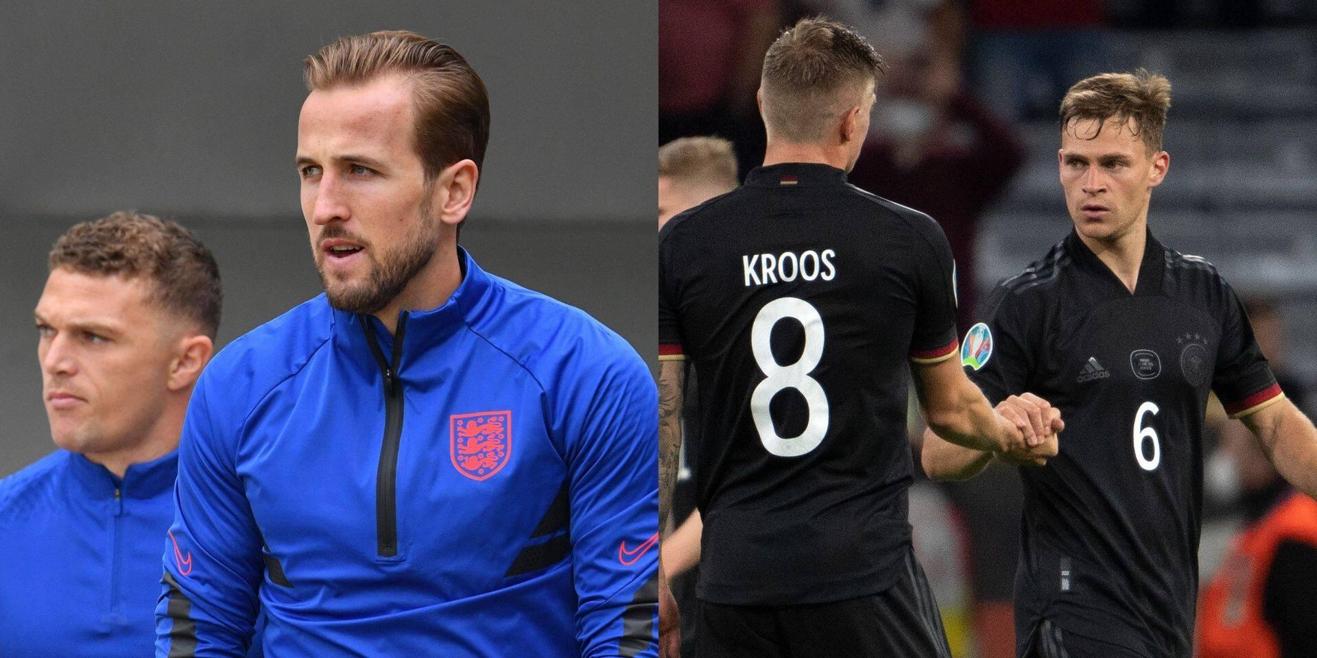 Angleterre-Allemagne: une affiche de rêve et un match de la peur