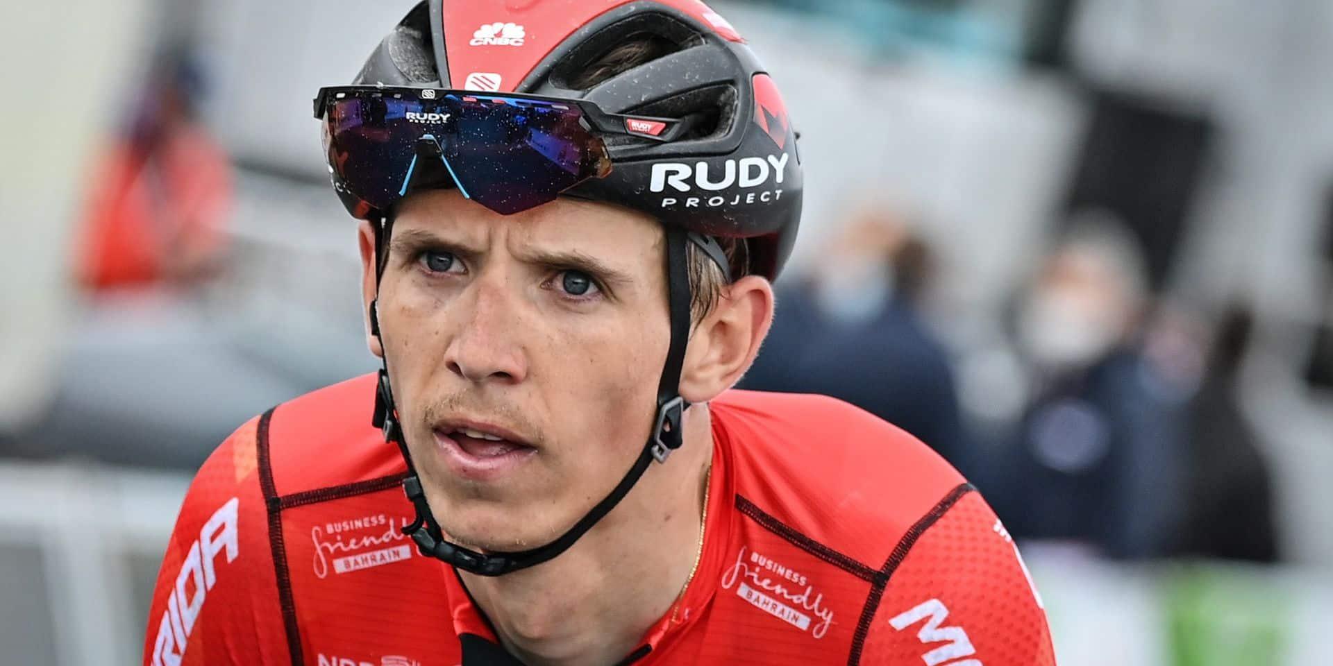 Dylan Teuns sera au Tour de France, mais pas de Mark Padun ni Mikel Landa dans la sélection de Bahrain-Victorious