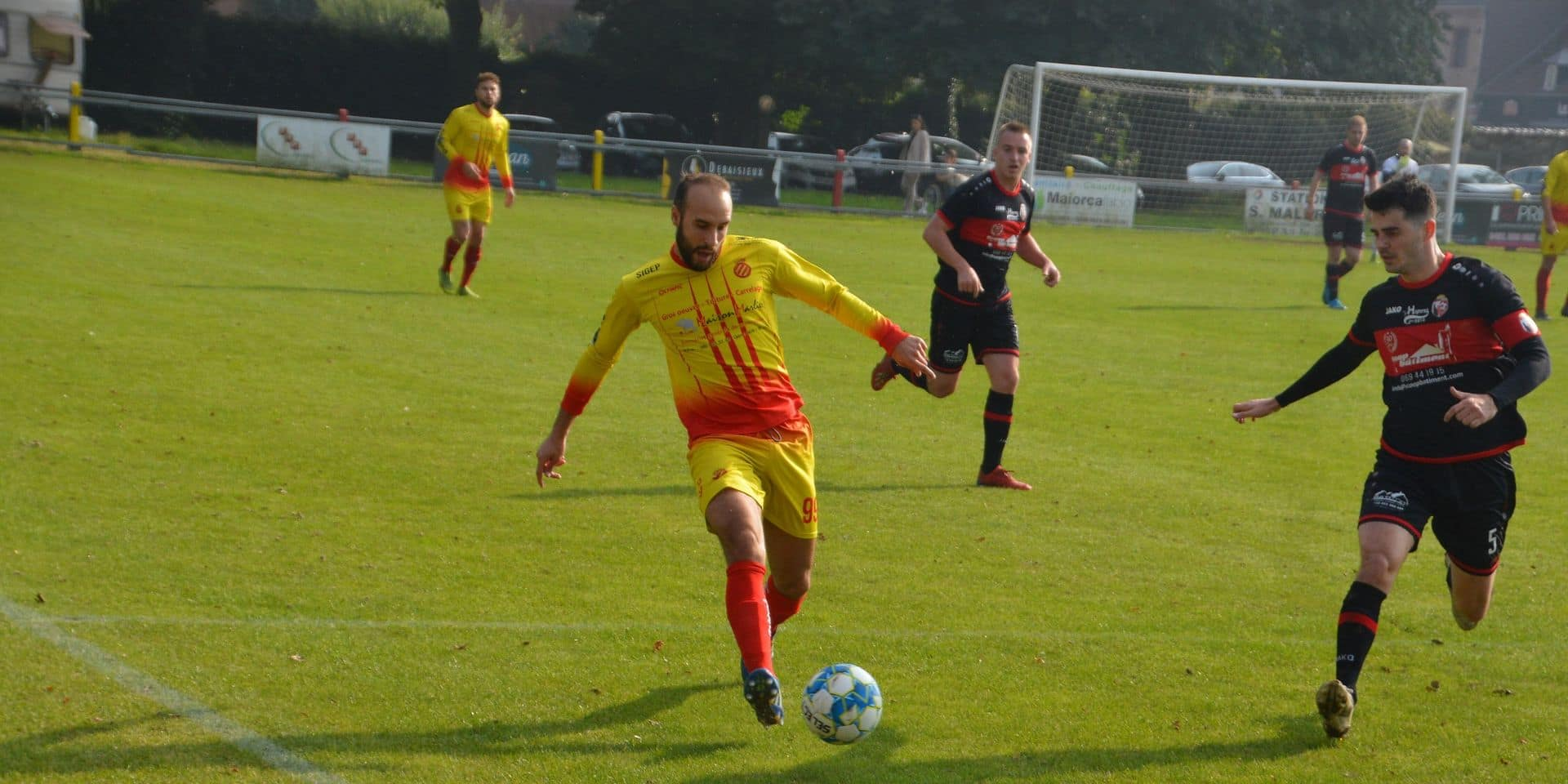 """Un Beloeil bien inspiré a dominé le derby face au Pays Blanc: """"L'un de nos meilleurs matchs"""""""
