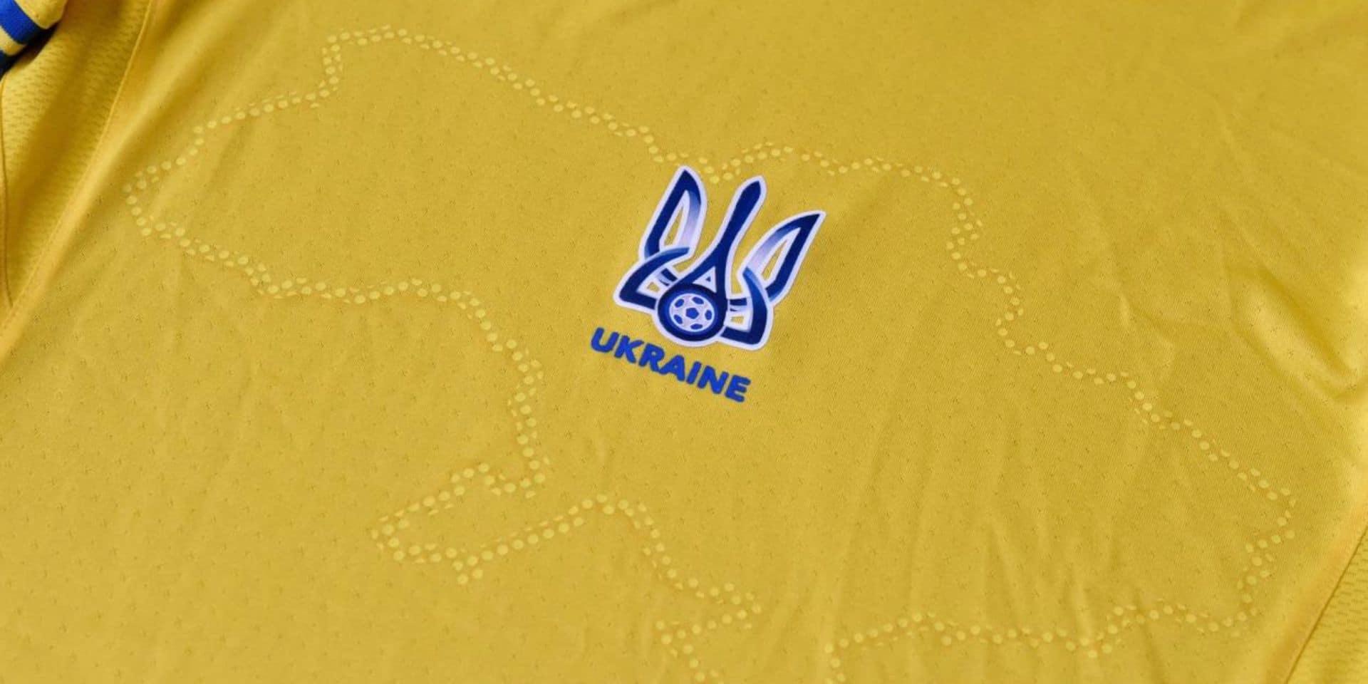 Le maillot de l'équipe de football ukrainienne provoque l'indignation en Russie