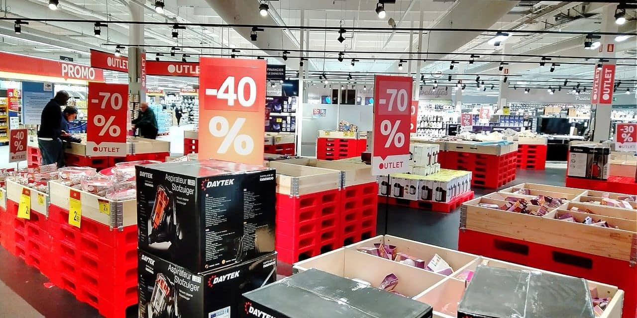 La nouvelle zone Outlet chez Carrefour ? Pas si Outlet que ça, en fait
