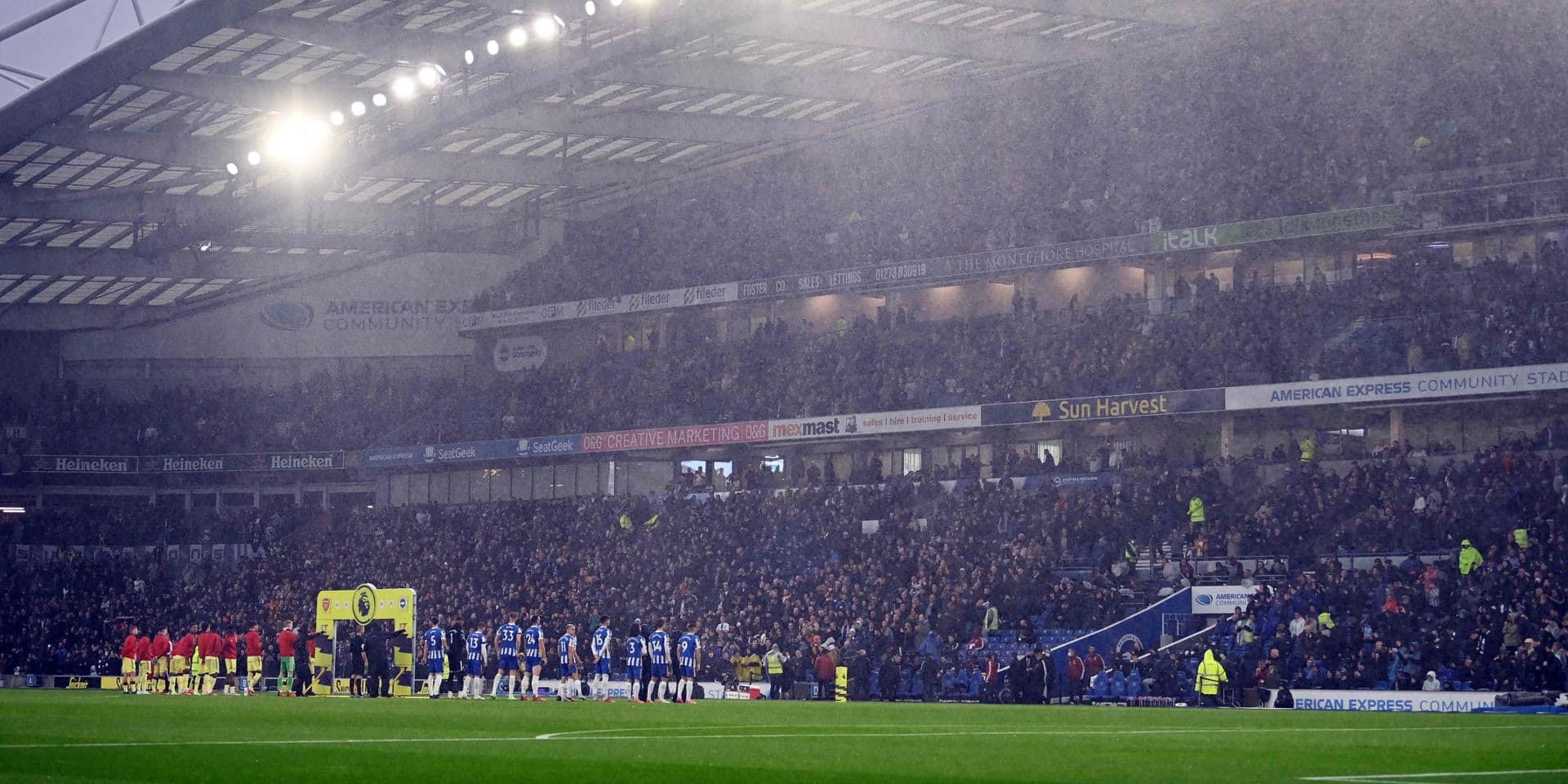Premier League: un joueur de Brighton arrêté pour des soupçons d'agression sexuelle
