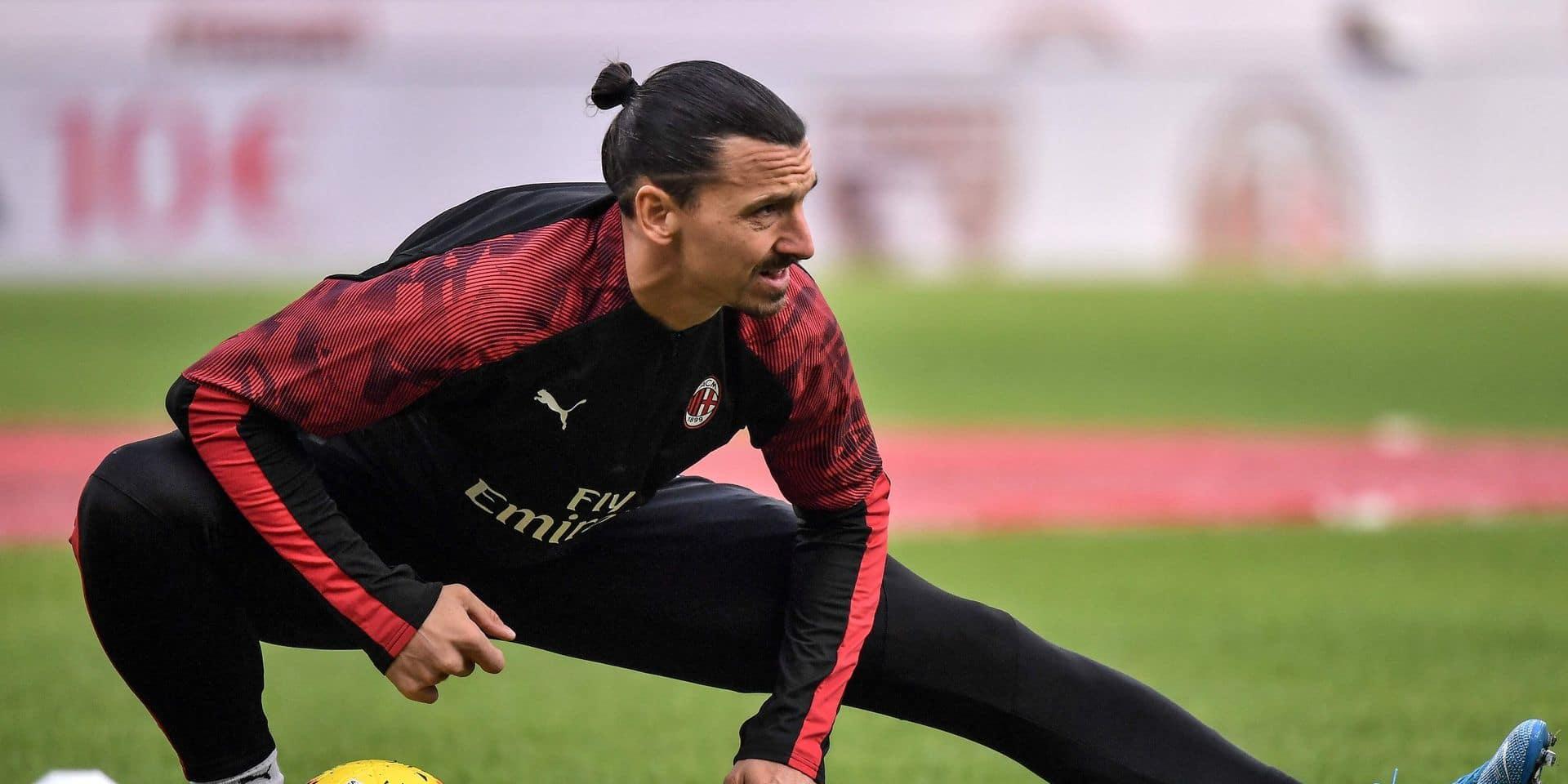 Nouvelles rassurantes pour Zlatan Ibrahimovic: ça ne sent pas la fin de carrière anticipée