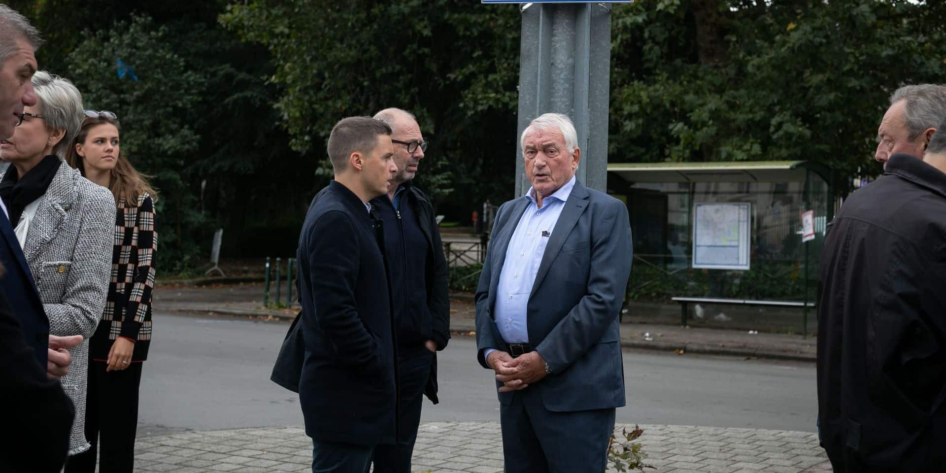 """Une 'Place Paul Van Himst' à Anderlecht: """"Il ne s'y attendait pas"""""""