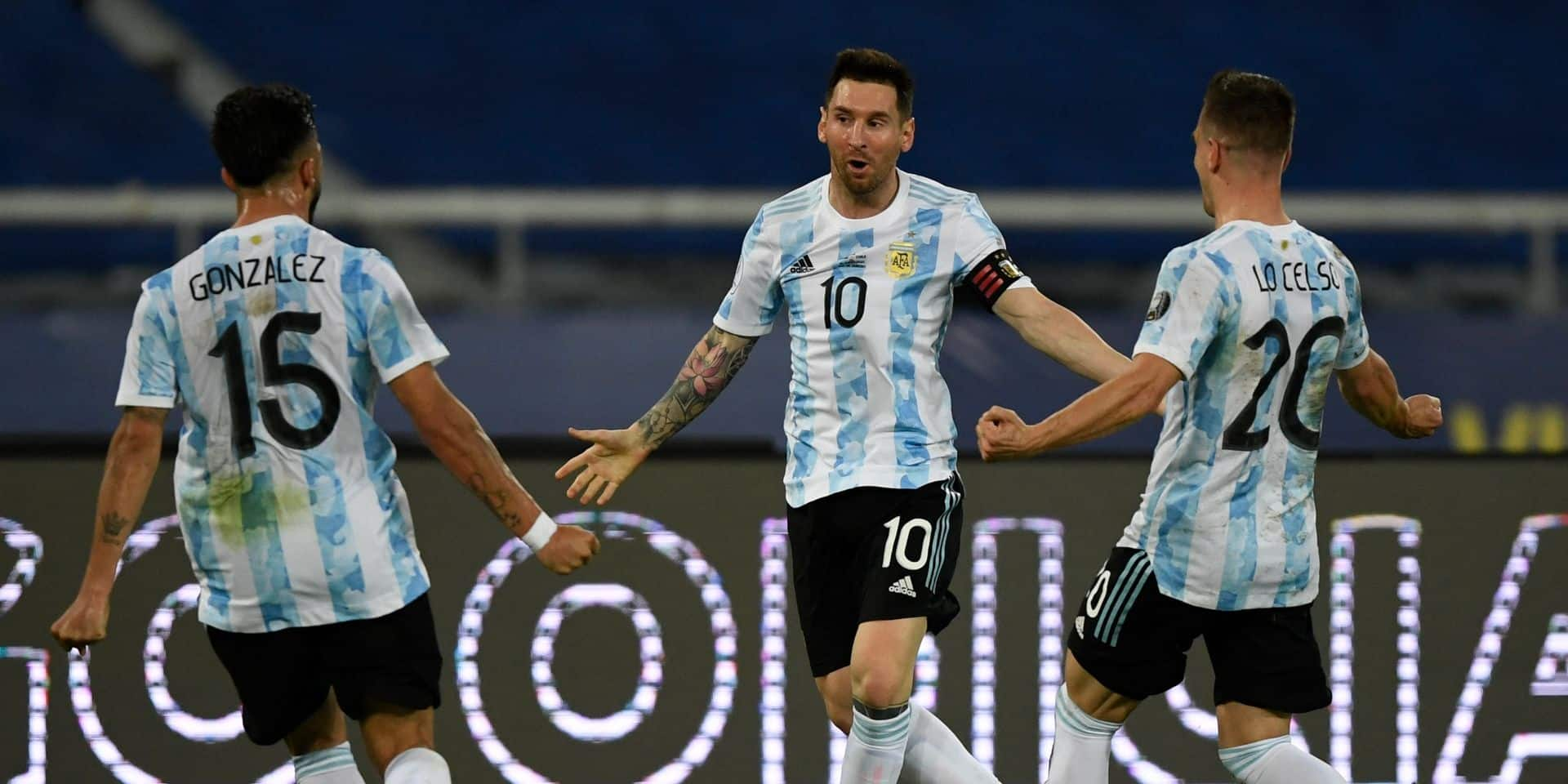 Malgré un coup franc somptueux de Messi, l'Argentine concède le partage face au Chili (VIDEO)