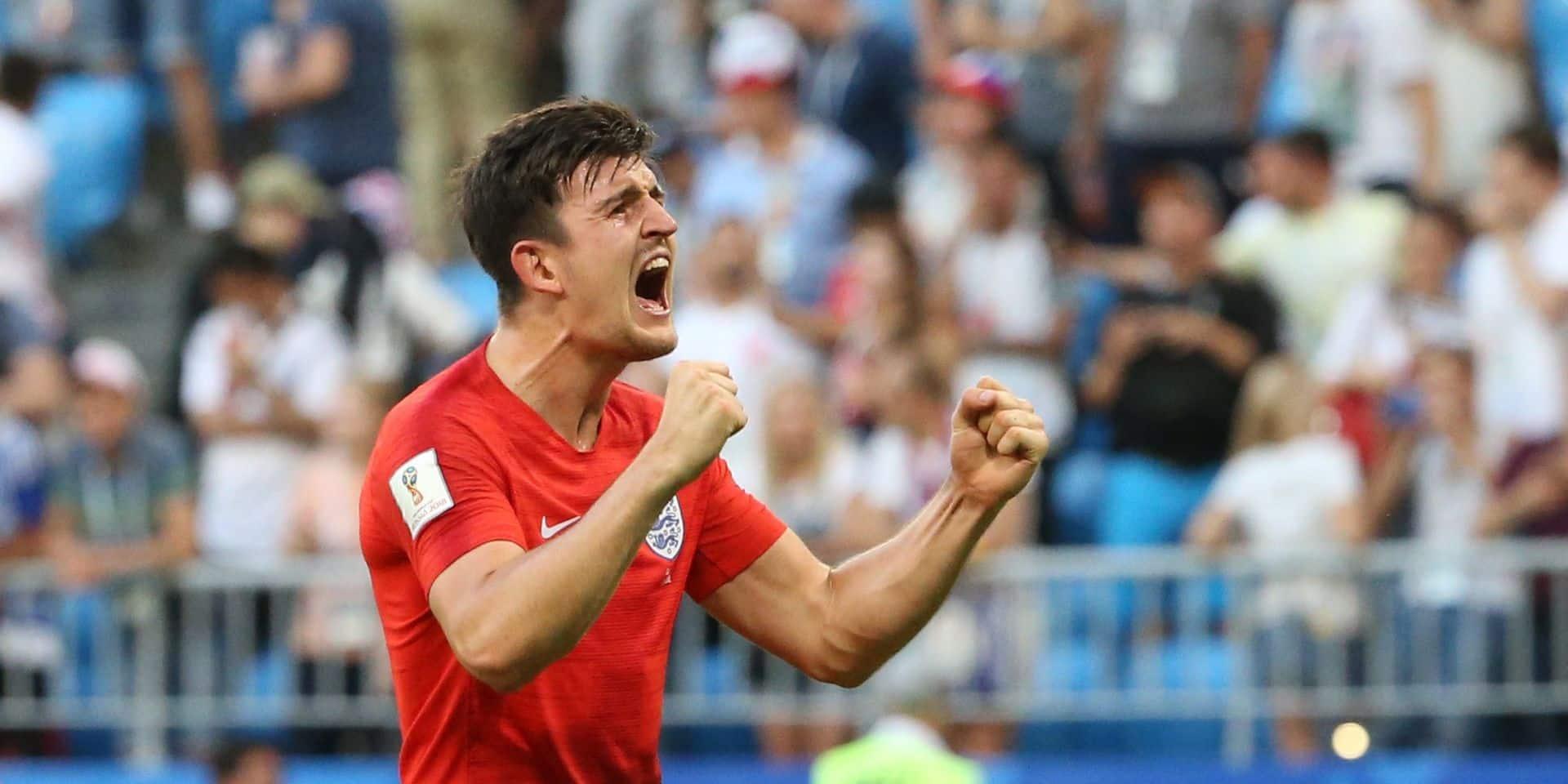 Harry Maguire ne jouera pas les deux prochains matches de l'Angleterre