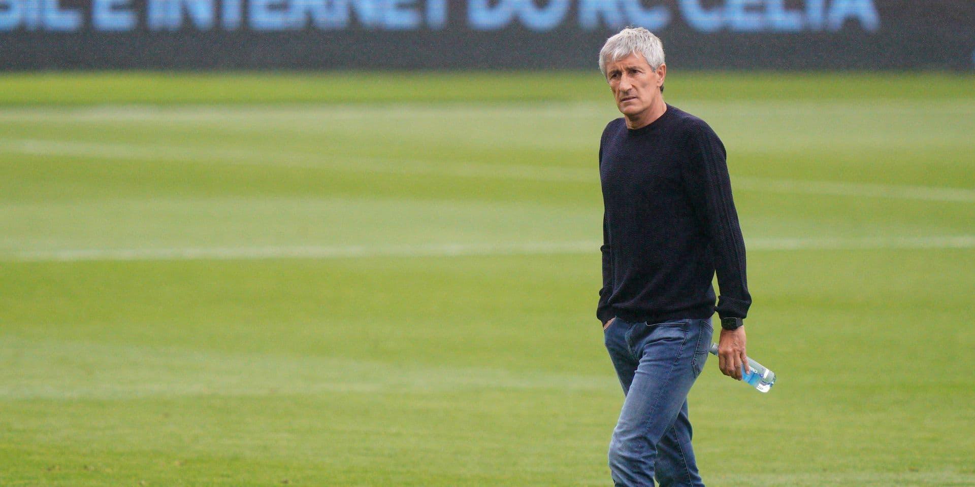 Sétien qu'à un fil: le vestiaire du Barça veut la peau de son entraîneur