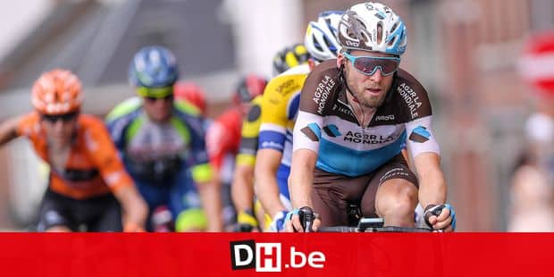 Belgian Jan Bakelants of AG2R La Mondiale pictured in action during the 52nd edition of the one day cycling race 'Grand Prix Pino Cerami', 202,3 km from Saint-Ghislain to Frameries, Thursday 26 July 2018. BELGA PHOTO LUC CLAESSEN