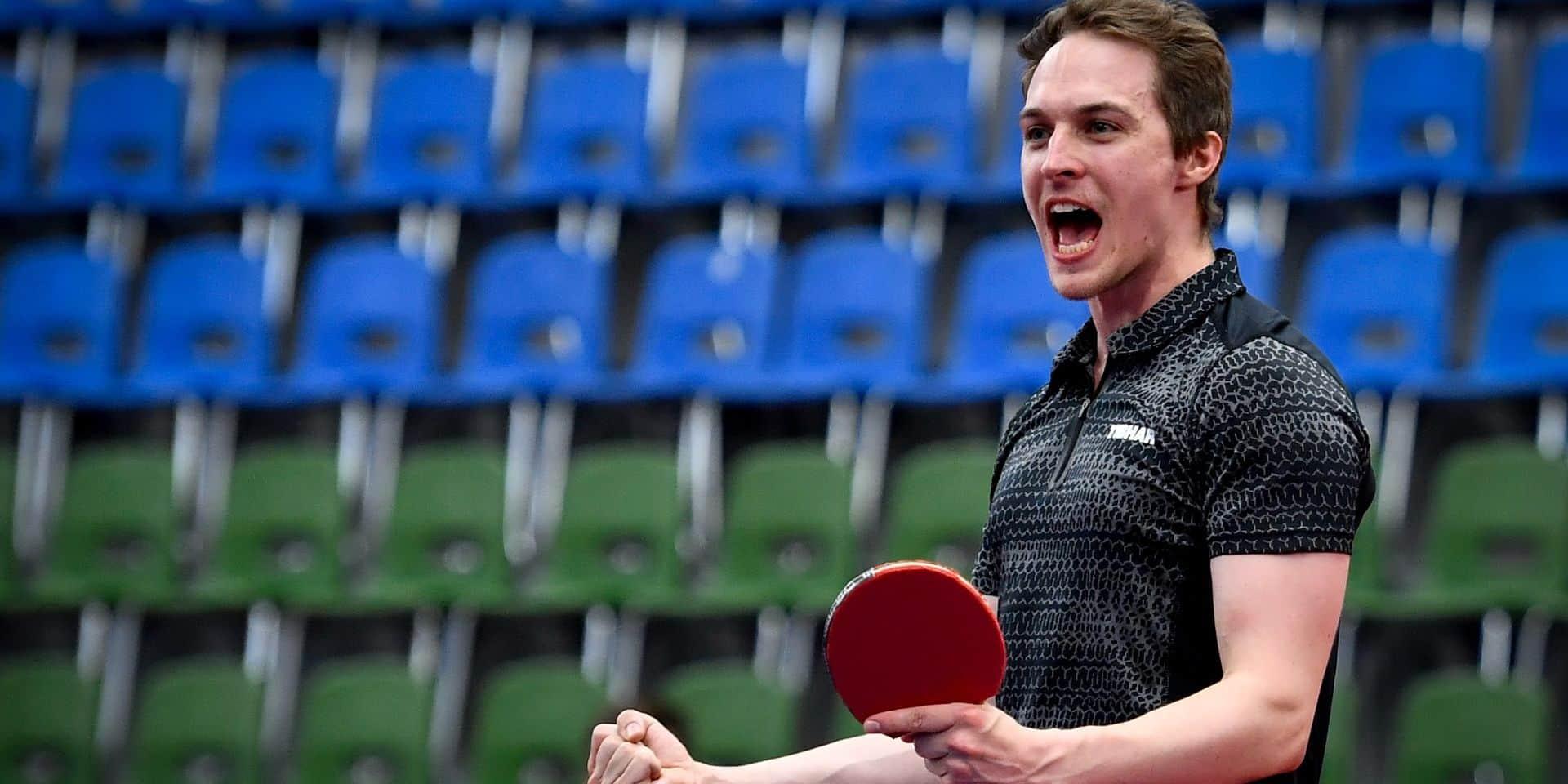 Tennis de table : Cédric Nuytinck en argent à l'Euro !