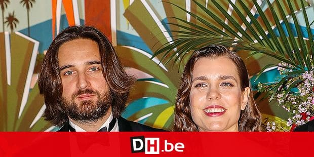 Dimitri Rassam and Charlotte Casiraghi arrive for the 'Bal de la Rose' (Rose Ball), in Monaco, on March 30, 2019. The Rose Ball is a traditional annual charity event in the Principality of Monaco. This year the theme is 'Riviera', designed by late German Karl Lagerfeld and Princess Caroline of Hanover. Reporters / Crystal Pictures