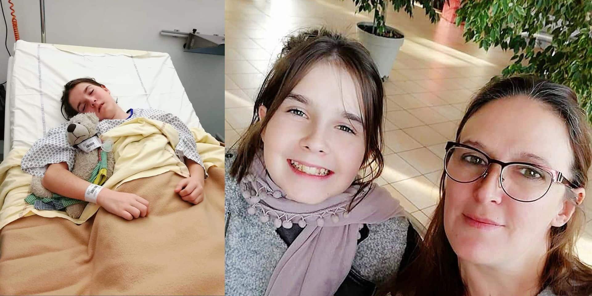 Il reste deux semaines pour trouver 5.000 €, sa banque lui refuse un crédit : l'opération de la dernière chance pour Priscilla, 14 ans, atteinte d'une maladie rare