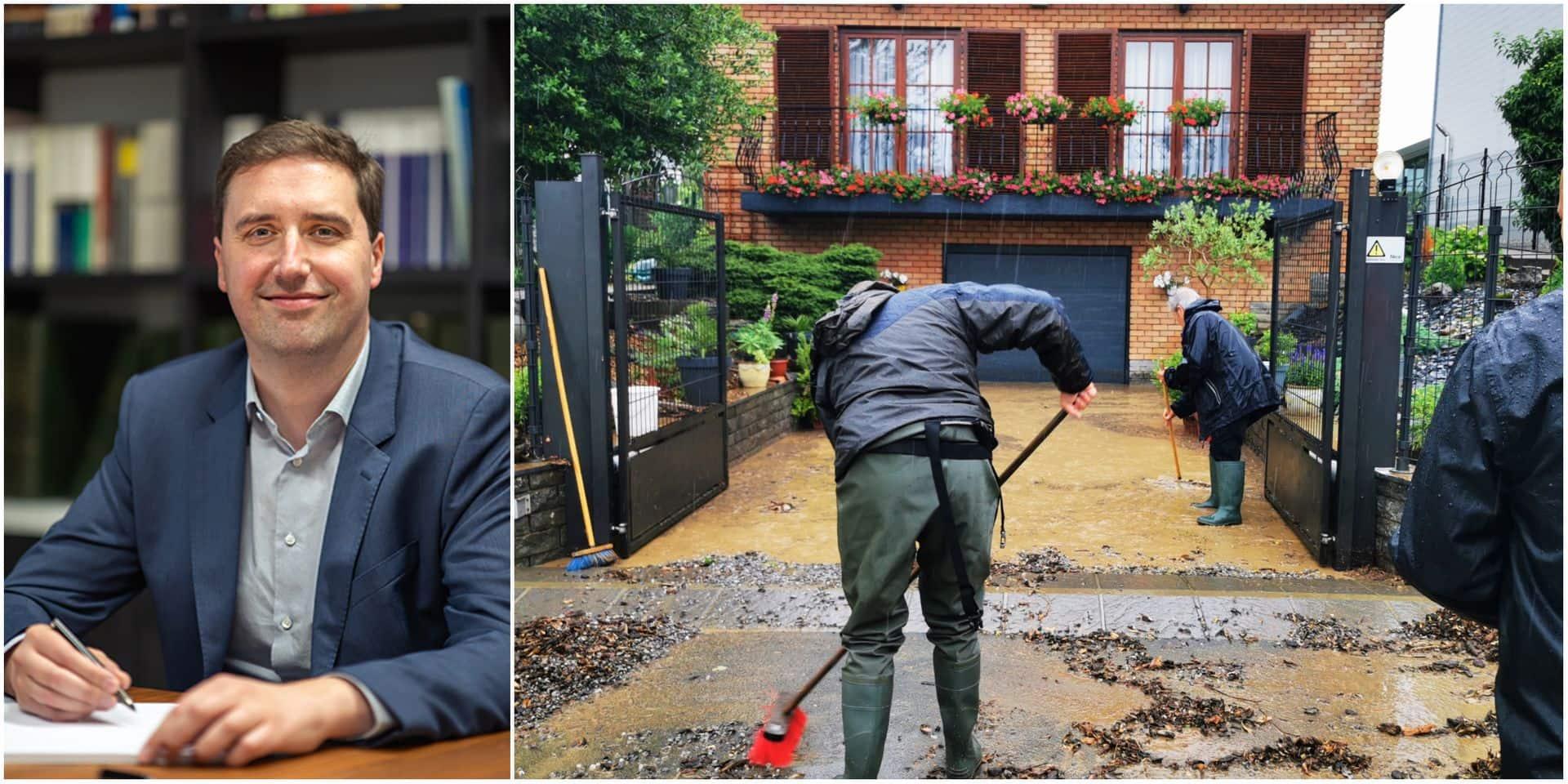 """""""Les riverains victimes d'inondations répétées et les automobilistes accidentés peuvent attaquer la Commune, la Province ou la Région"""""""