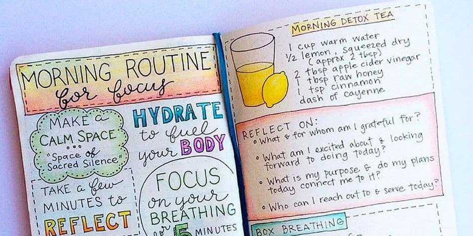 Faire sa propre thérapie du bonheur grâce au Bullet Journal