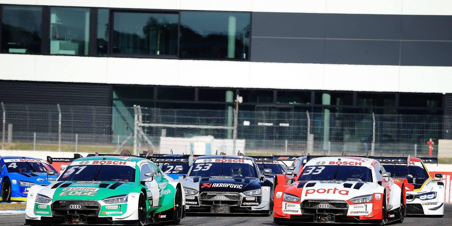TCR Europe, DTM, ADAC GT Masters: titres et guigne belges