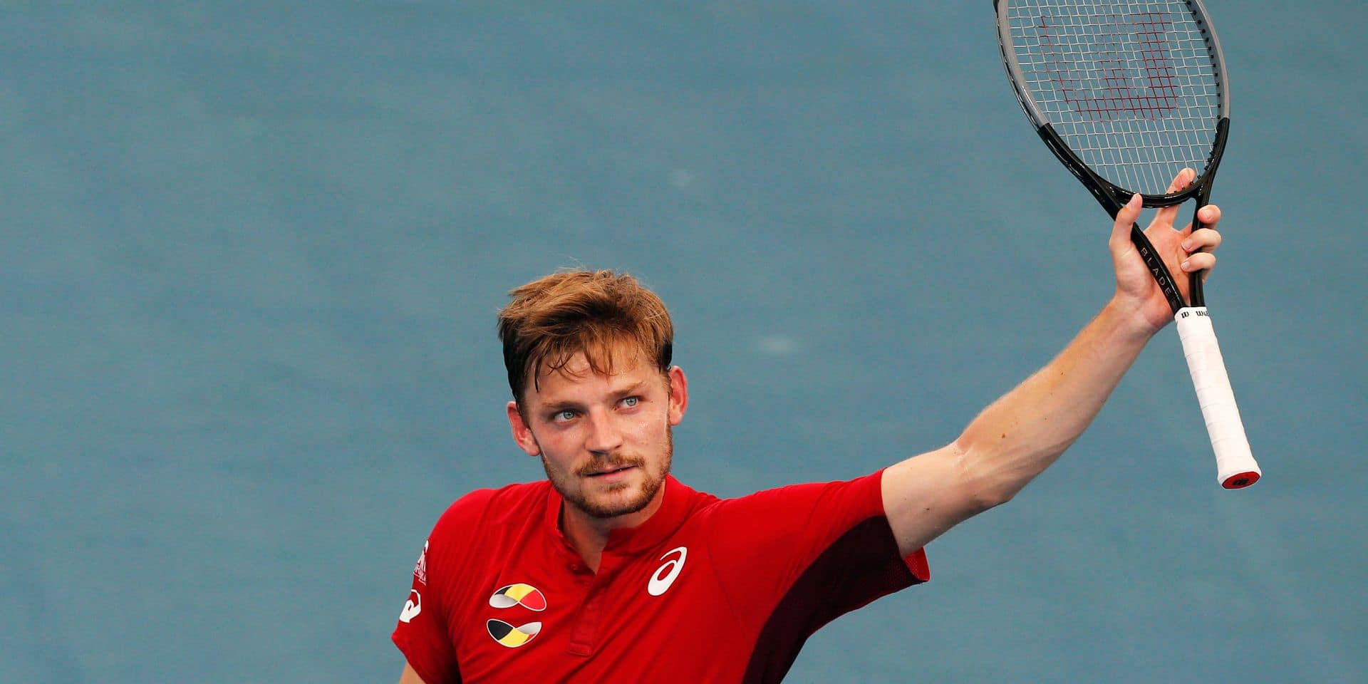 """ATP Cup: Goffin, après sa victoire contre Albot à Sydney: """"Pour l'instant, c'est un 10 sur 10"""""""