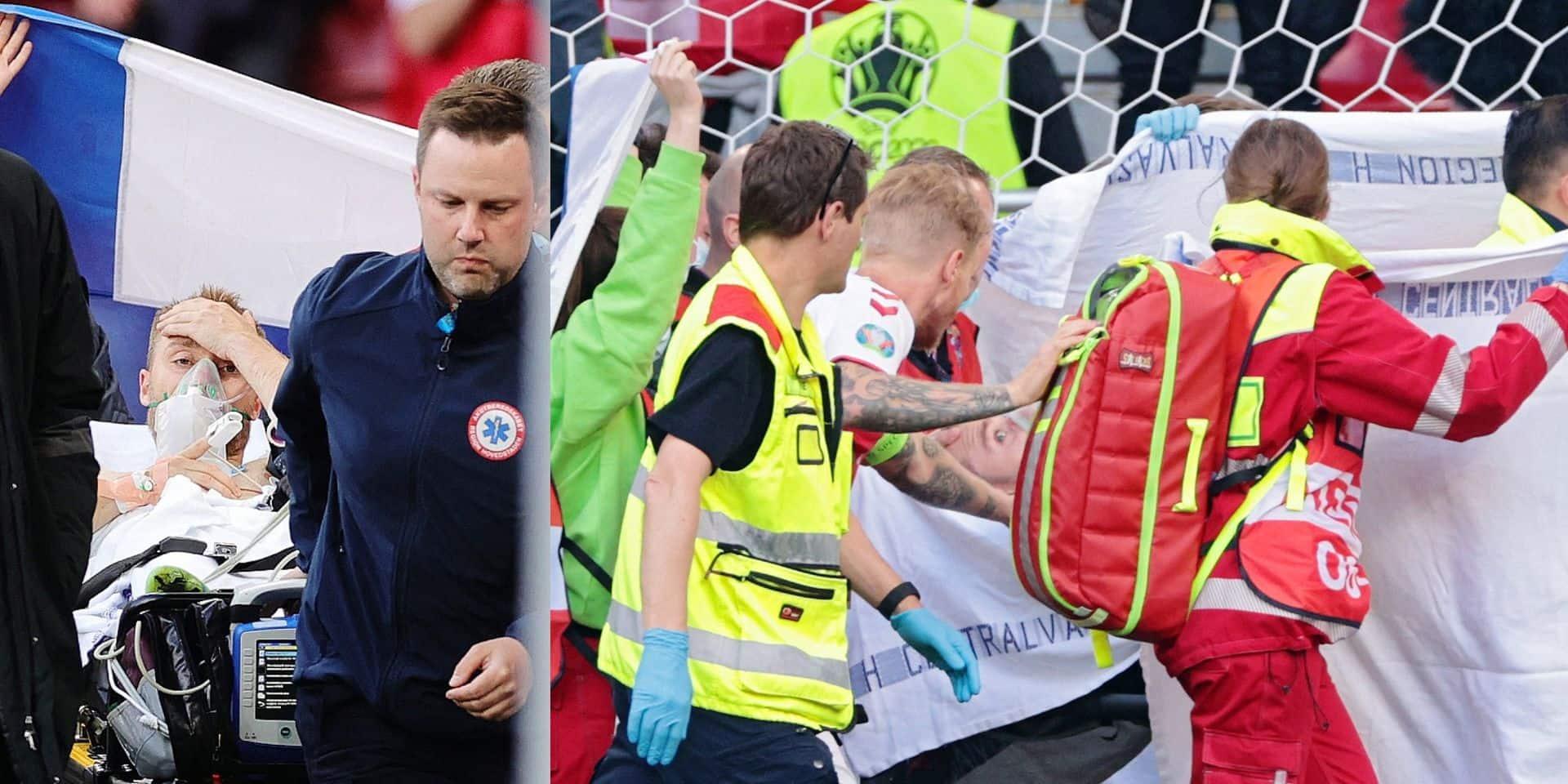 """Eriksen victime d'un malaise cardiaque: """"Le risque zéro n'existe pas"""""""