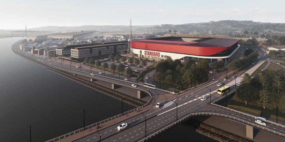 Le Standard a son permis pour transformer son stade