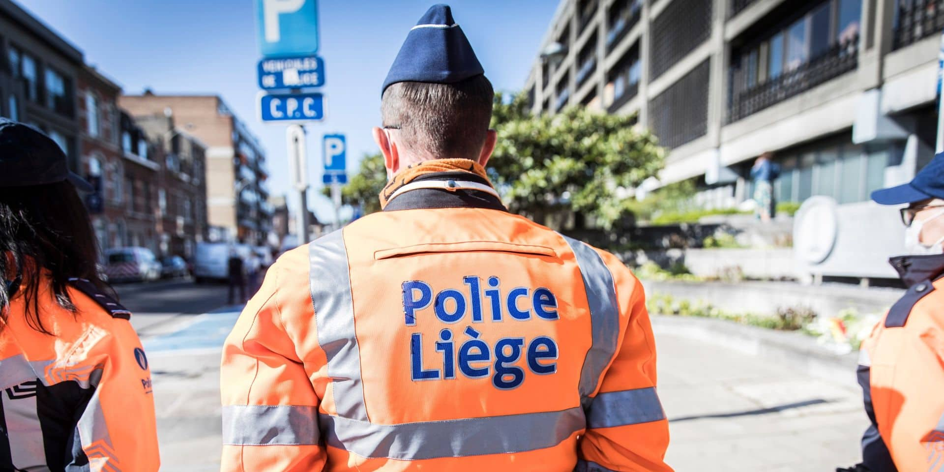 La police acquiert la piste de circulation