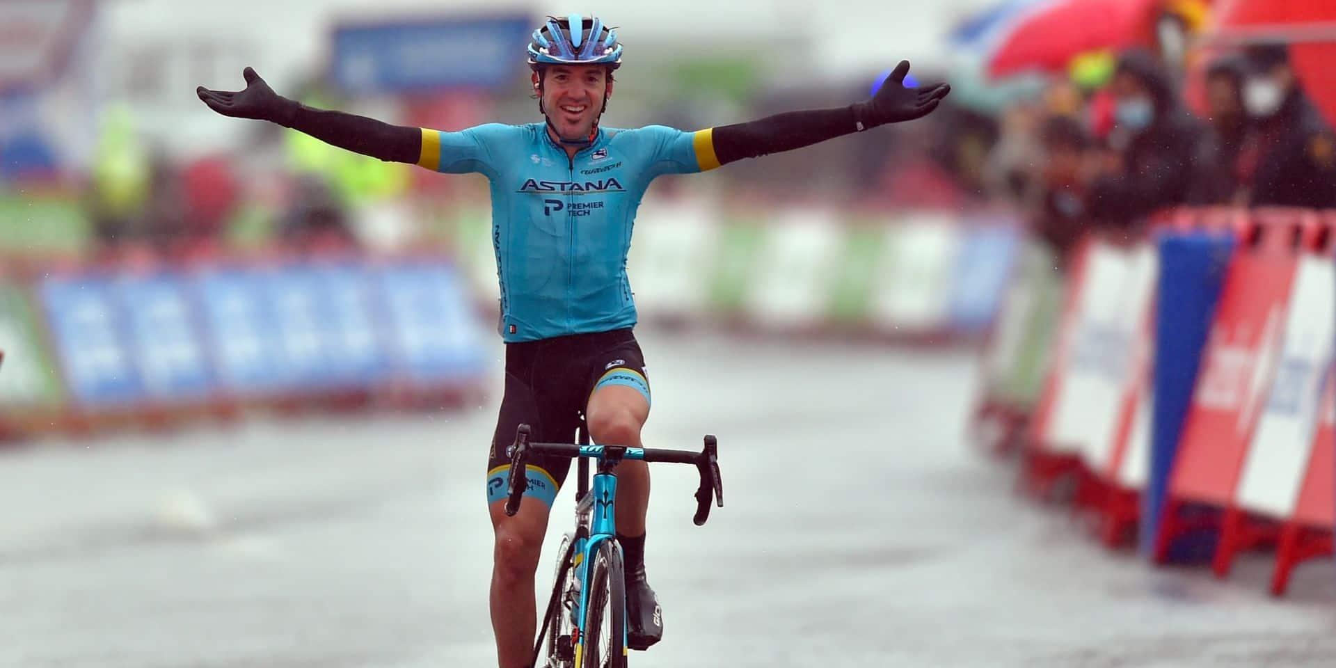 Vuelta: Ion Izagirre s'offre l'étape, Carapaz prend le maillot rouge de leader à Roglic !