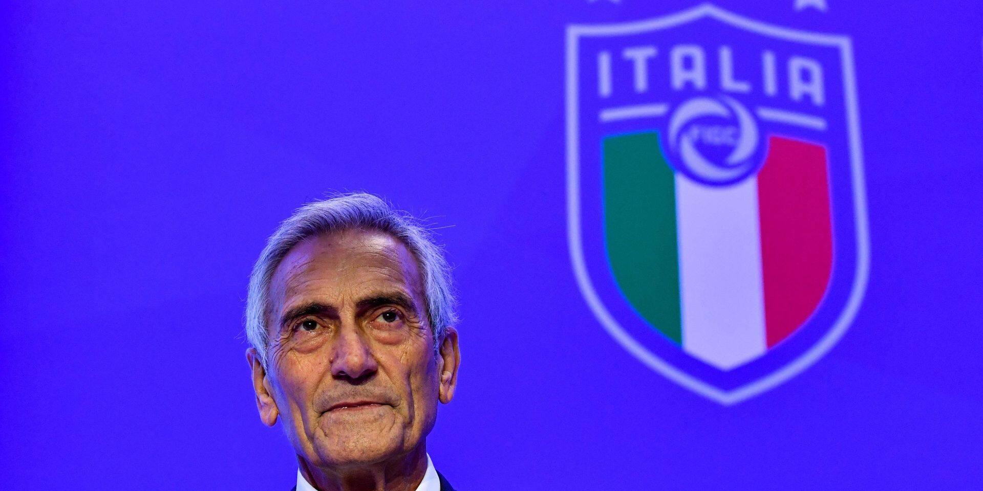 Le président de la Fédération italienne va demander le report de l'Euro