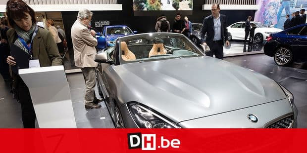 Illustration shows BMW Z4 during the opening day of the 97th edition of the Brussels Motor Show, at Brussels Expo, on Friday 18 January 2019, in Brussels. BELGA PHOTO DIRK WAEM