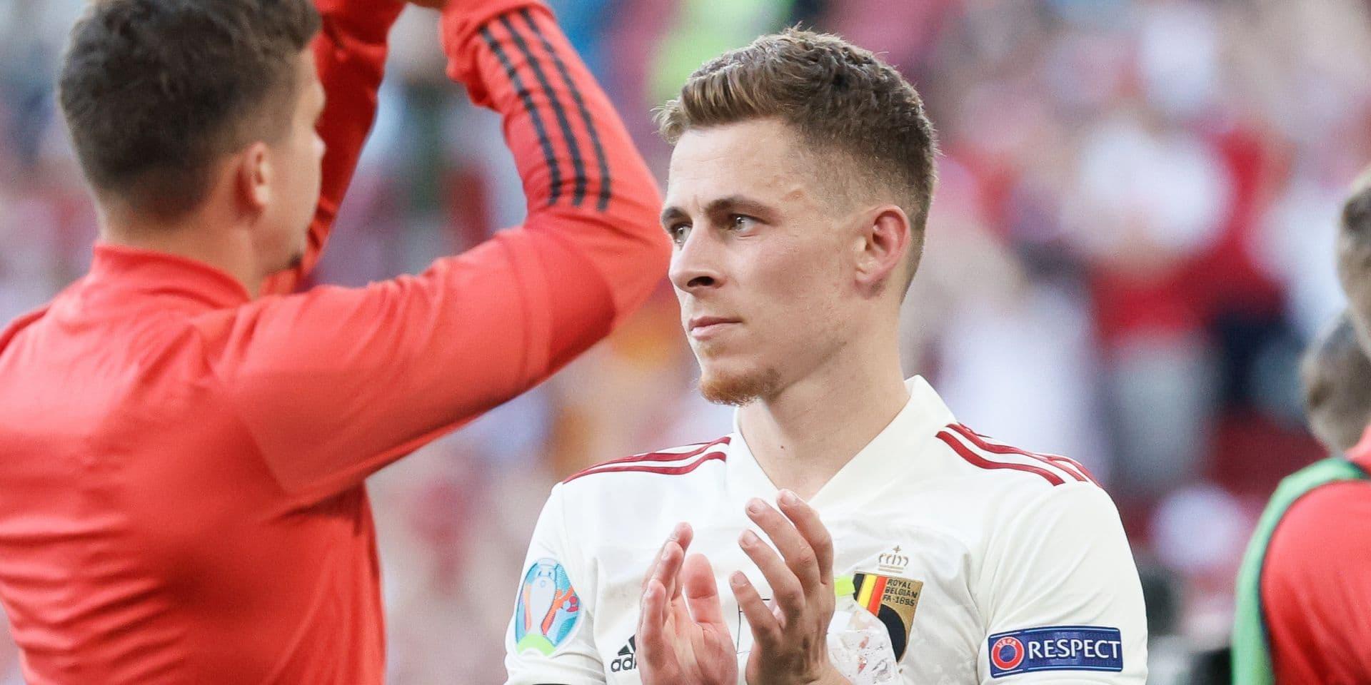 Thorgan Hazard incertain pour la Finlande, son ligament interne du genou touché