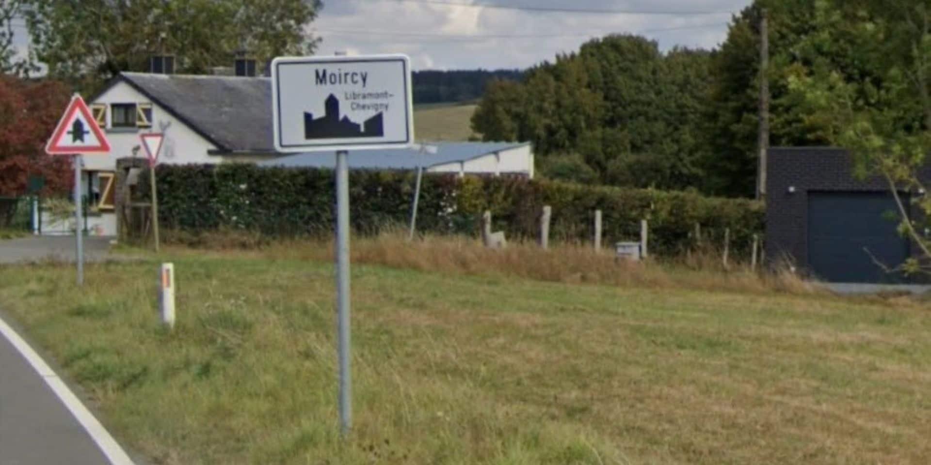 Accident de moto à Moircy (Libramont) : un blessé