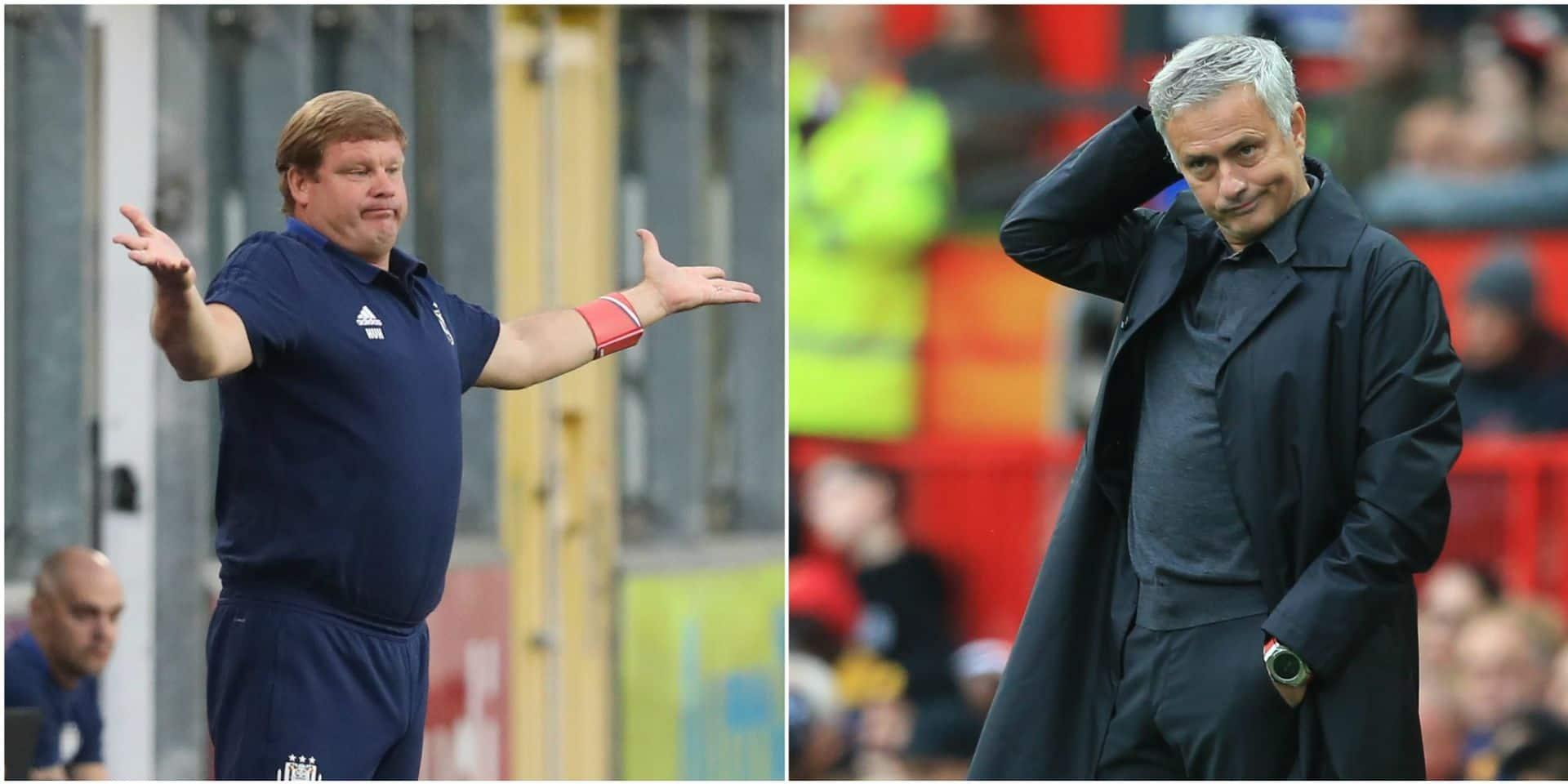 Vanhaezebrouck et Mourinho, même combat