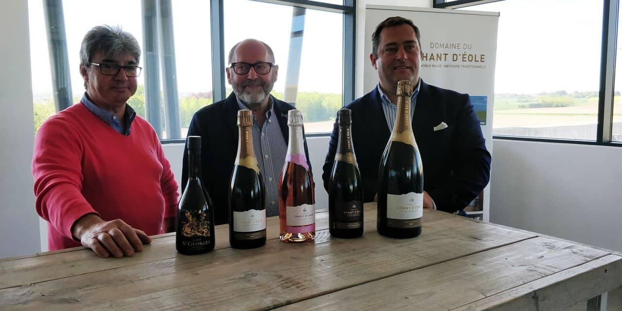 Quévy: le Chant d'Éole s'impose devant les grands champagnes du monde entier !
