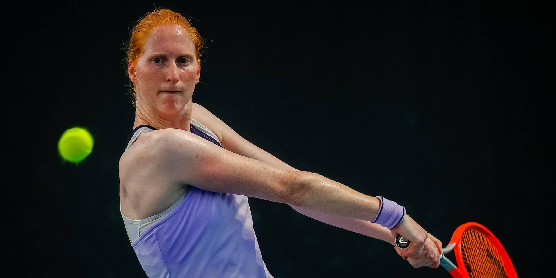 Alison Van Uytvanck retrouve la 55e place au classement WTA après son succès à Nur-Sultan