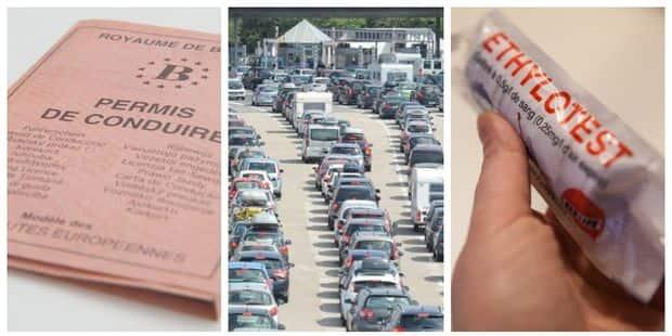Ethylotest pour gros buveurs, permis de conduire et route des vacances... Voici tout ce qui change ce 1er juillet - La D...
