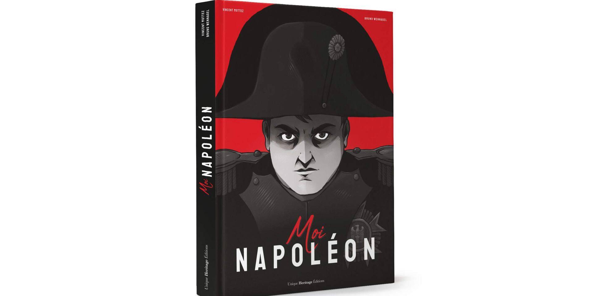 """""""Moi Napoléon"""", un roman graphique"""
