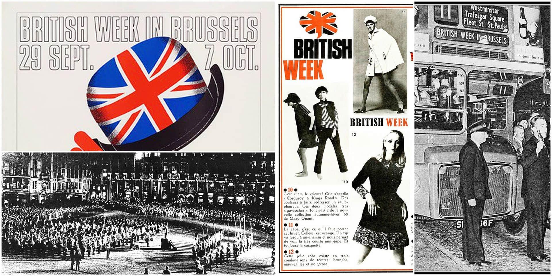 British Week 1967: quand l'Angleterre charmait l'Europe à Bruxelles