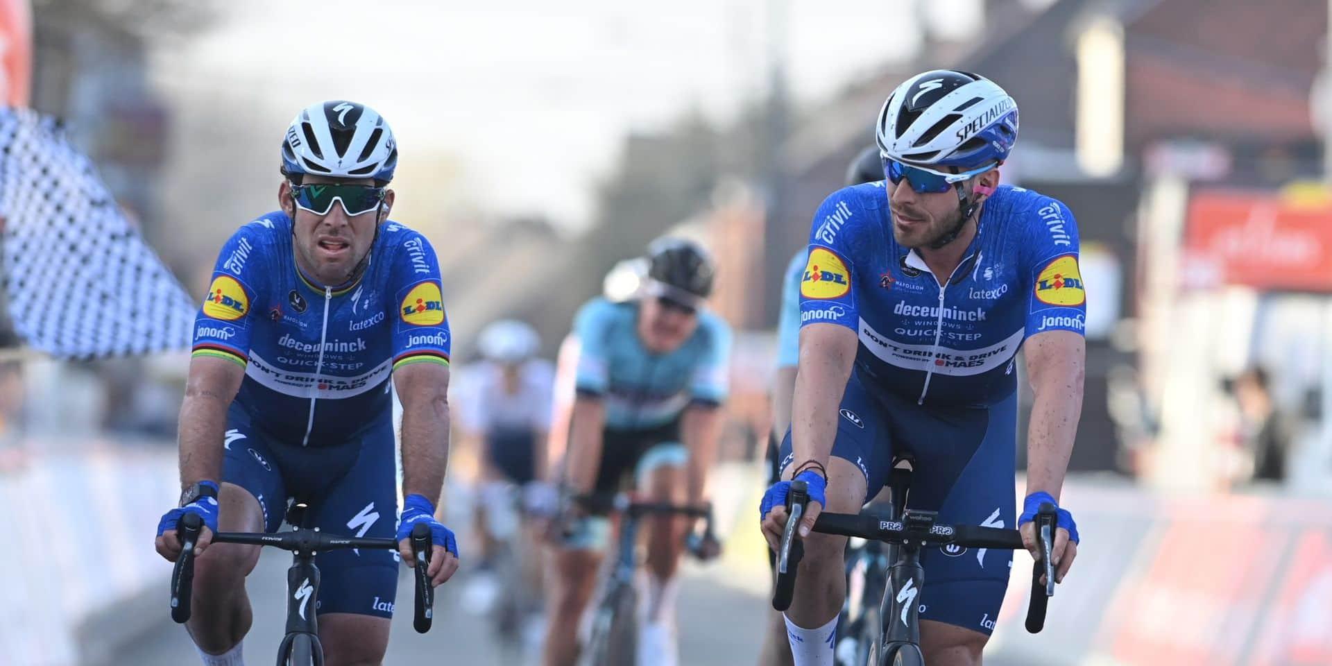 """""""Tim Merlier était très fort aujourd'hui"""", reconnaît Mark Cavendish, deuxième"""