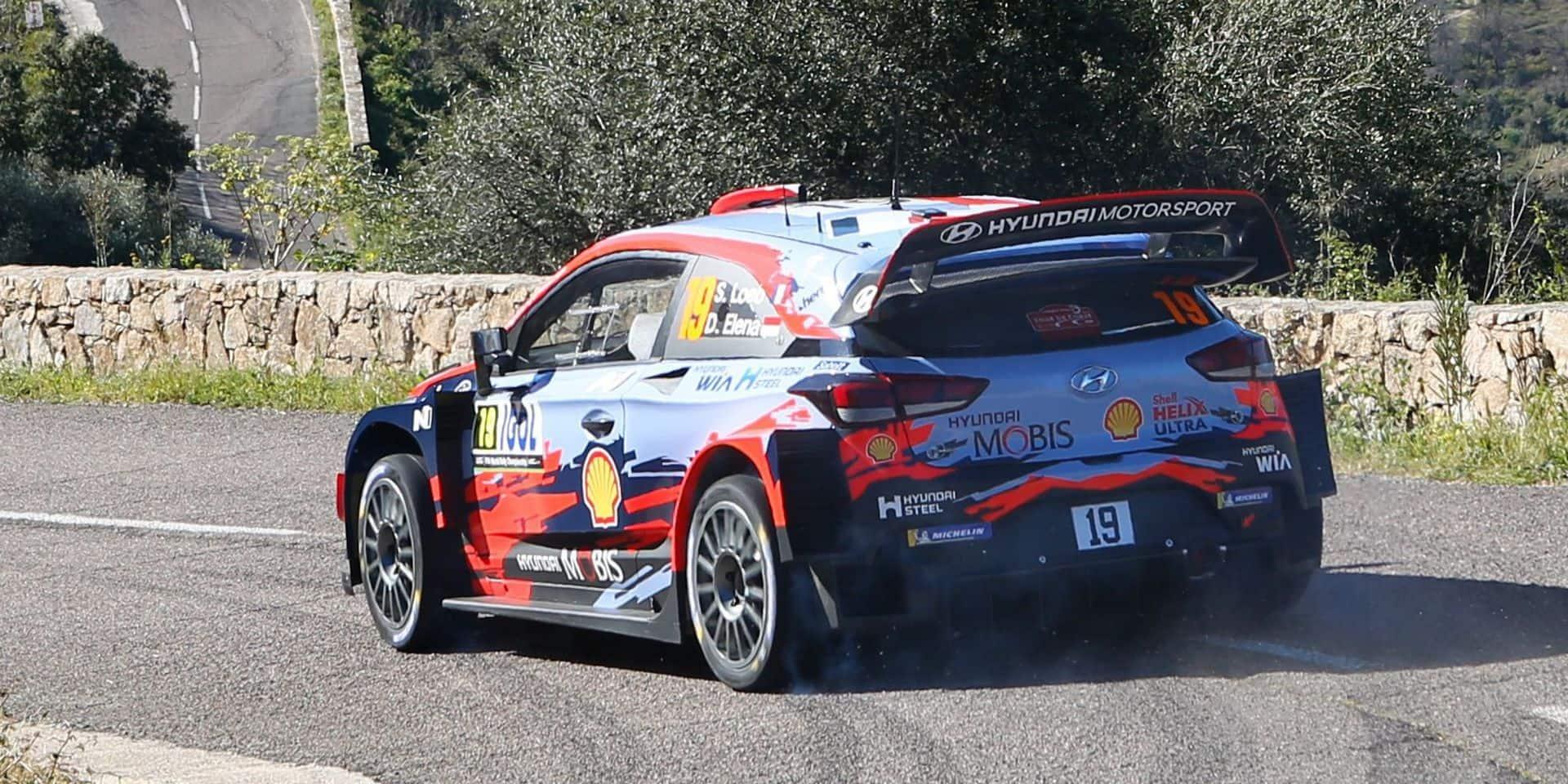 """Sébastien Loeb victime d'un accident """"mineur"""" lors des reconnaissances du Rallye du Chili"""