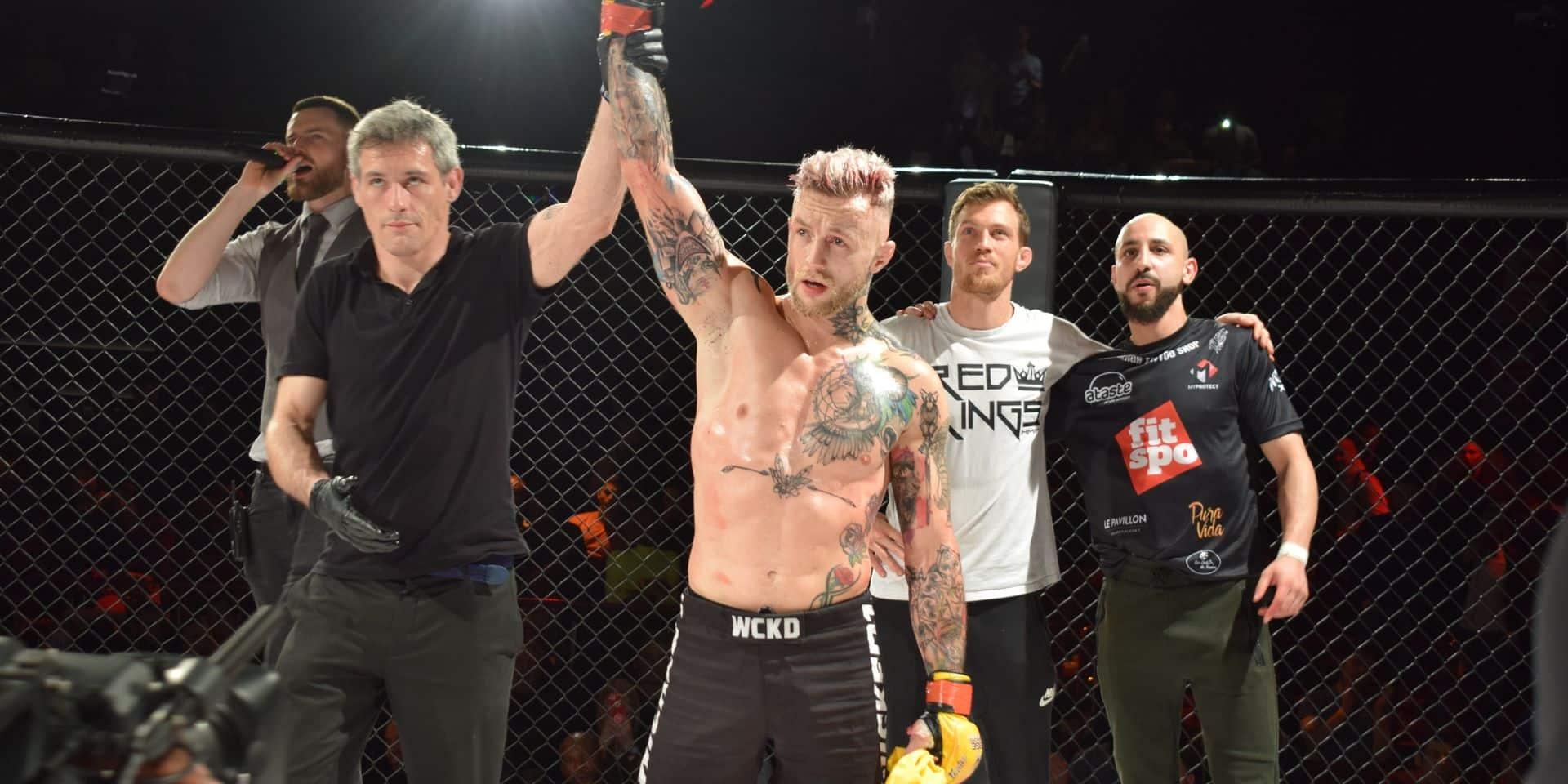 """Donovan Desmae (MMA) est le premier Belge à combattre à la KSW: """"Mon objectif reste le même, seul le chemin change"""""""