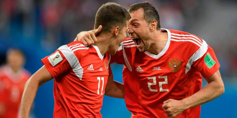 Russie / Egypte — Coupe du monde