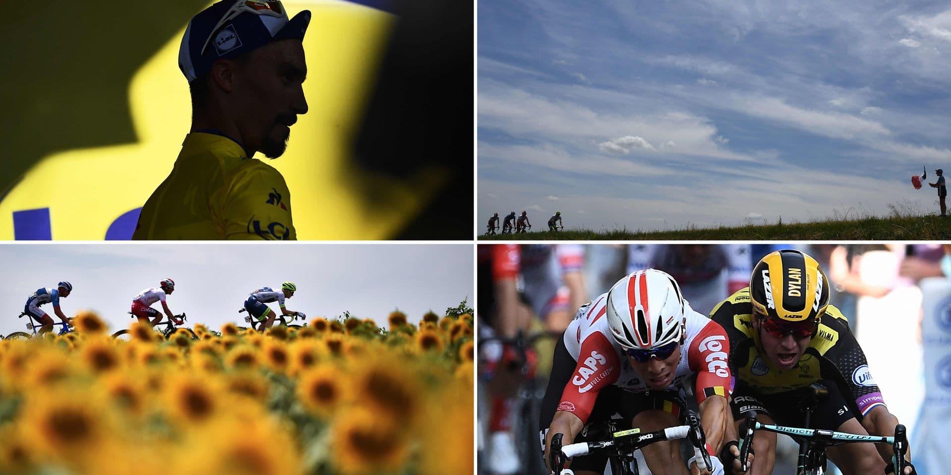 """Le carnet de bord de Kevin Van Melsen: """"L'étape la plus facile depuis le début du Tour"""""""