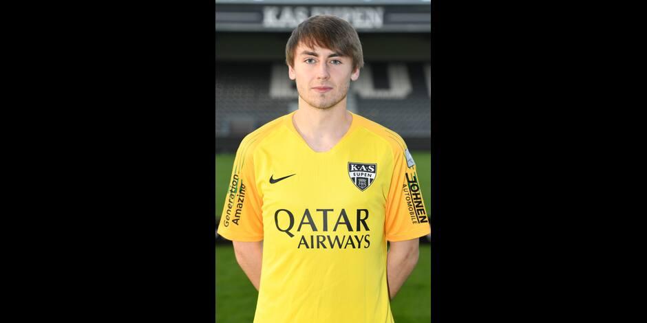 A 19 ans, Tom Roufosse décroche son premier contrat pro à Eupen