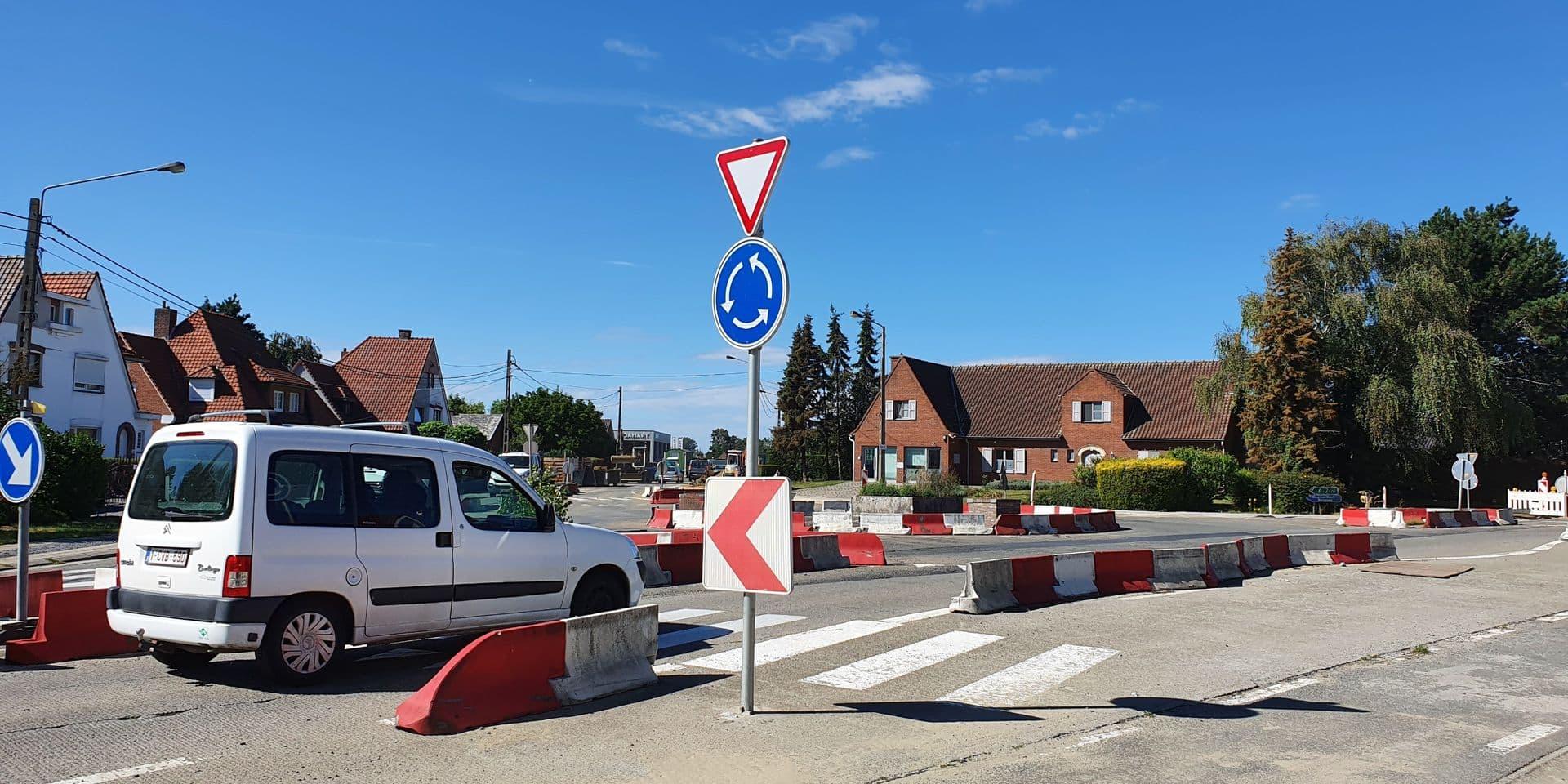 Dottignies: le carrefour du boulevard des Canadiens et de la rue de la Barrière de Fer va être enfin aménagé !