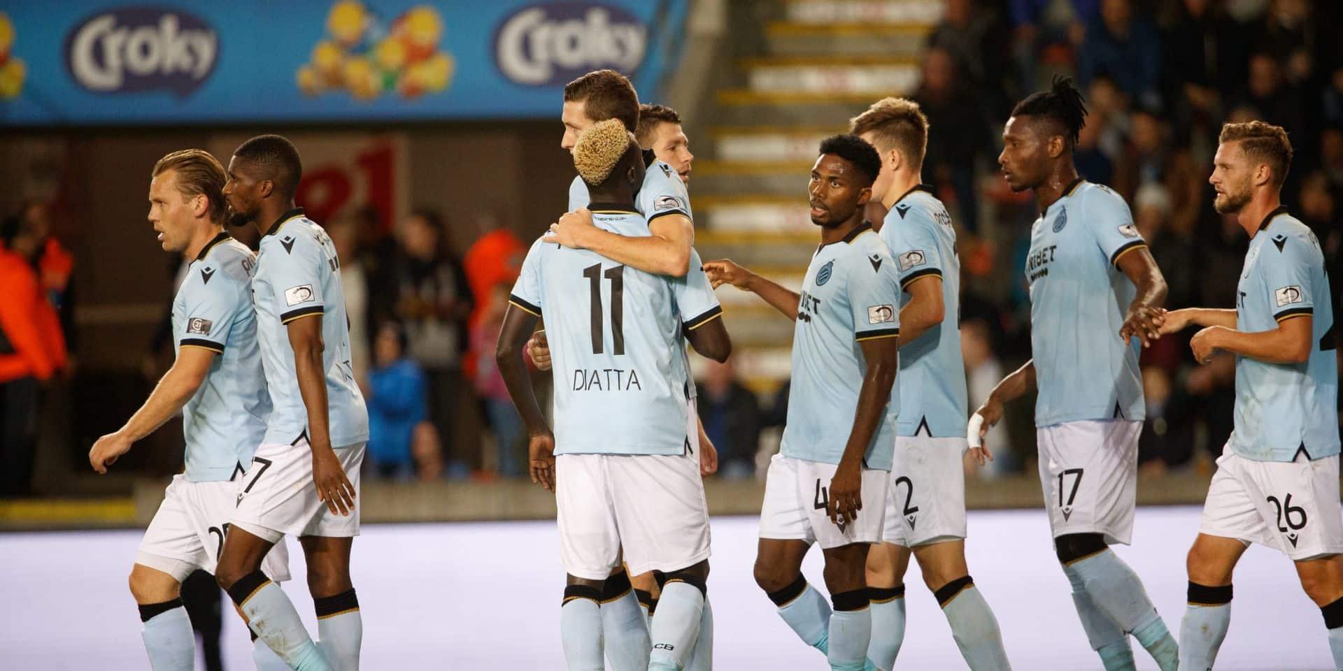 Le Club de Bruges s'impose sur le plus petit écart chez un Mouscron timide offensivement (0-1)