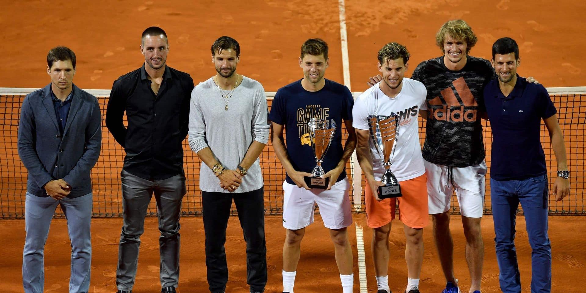 Tennis: Djokovic relance le tournoi de Belgrade après le fiasco de l'Adria tour