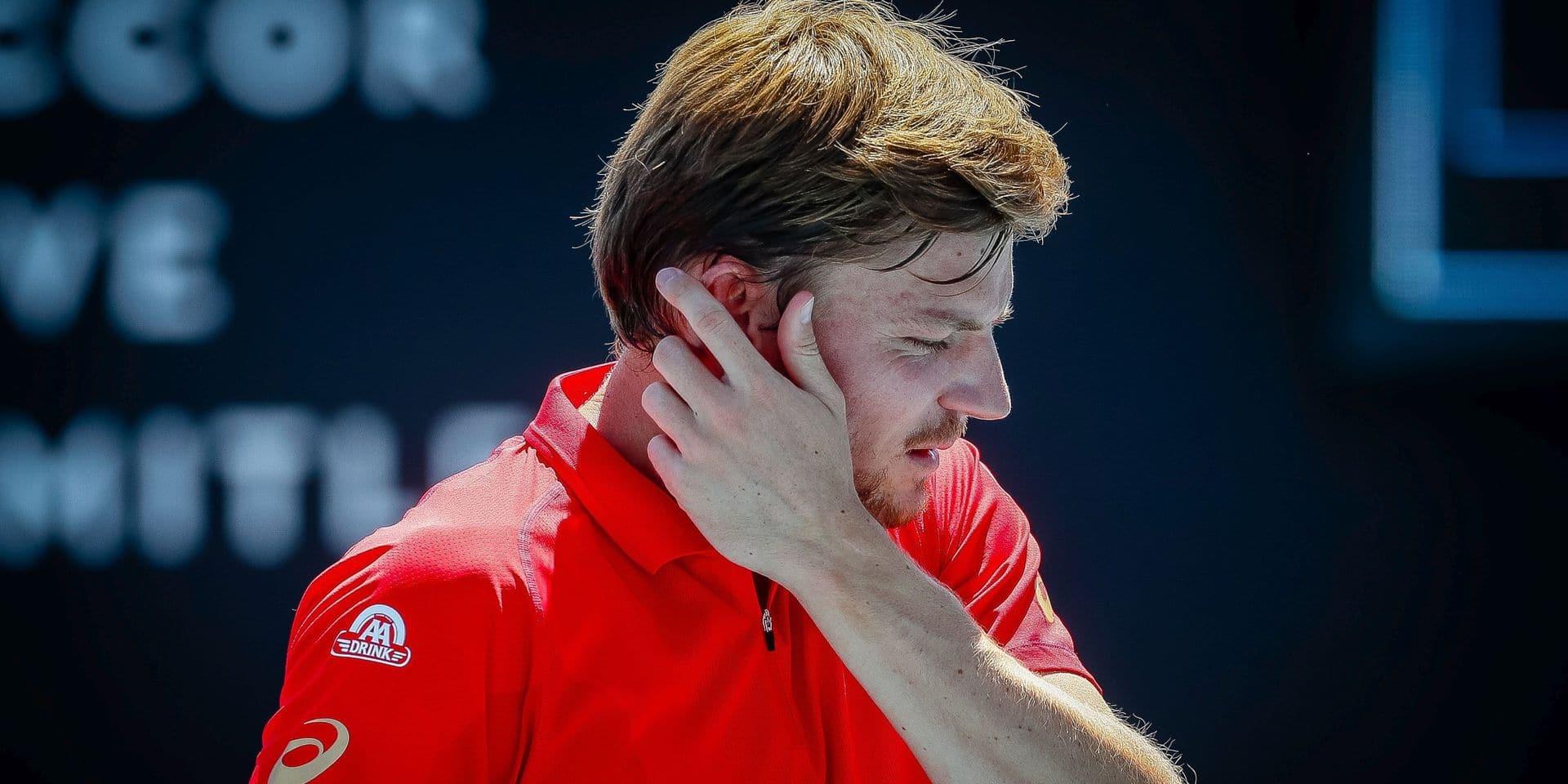 ATP Cincinnati: David Goffin se défait du Croate Coric pour son match de reprise sur le circuit ATP