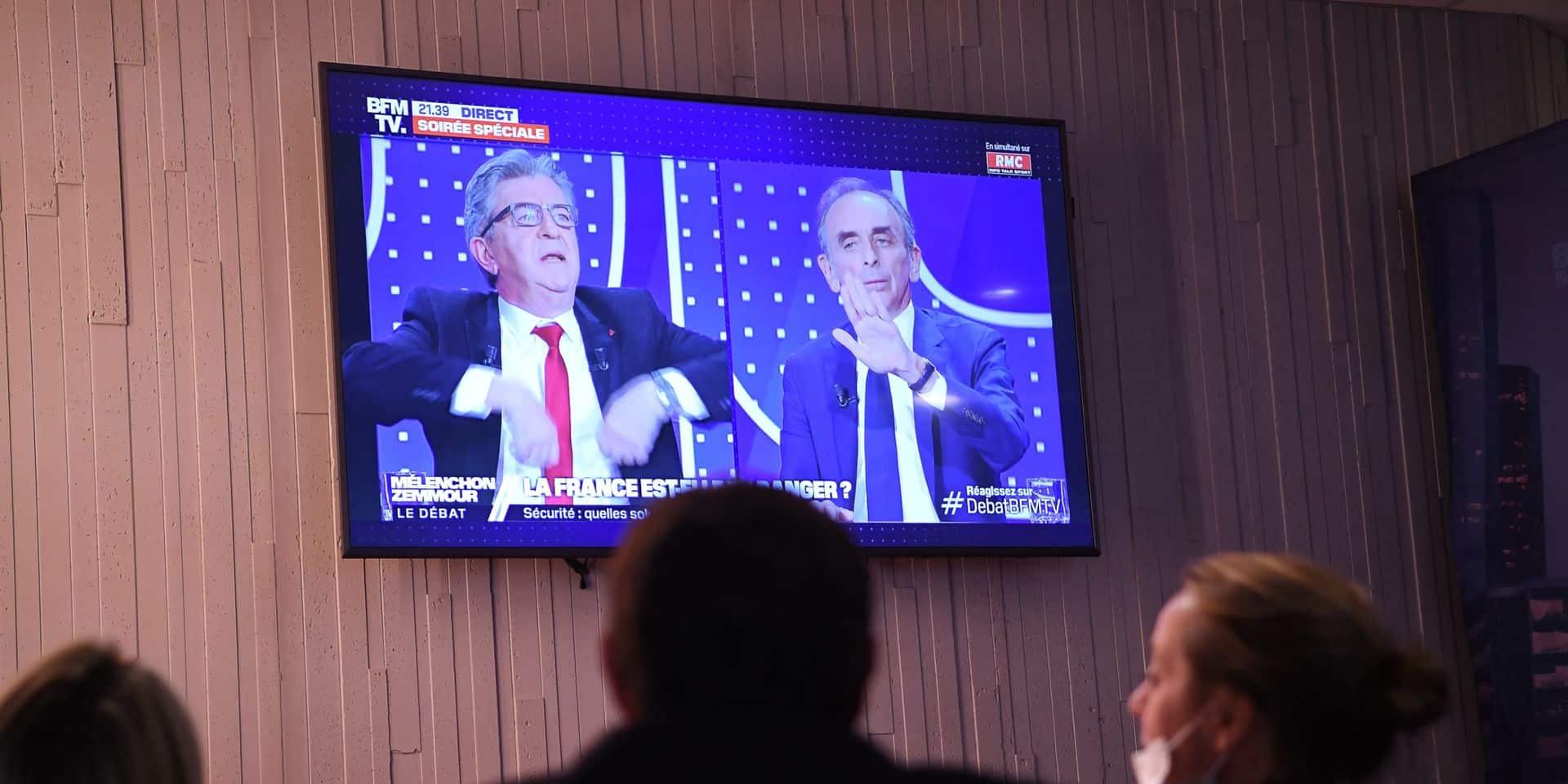 Carton d'audience pour le débat de BFM: un effet Eric Zemmour dans les médias?