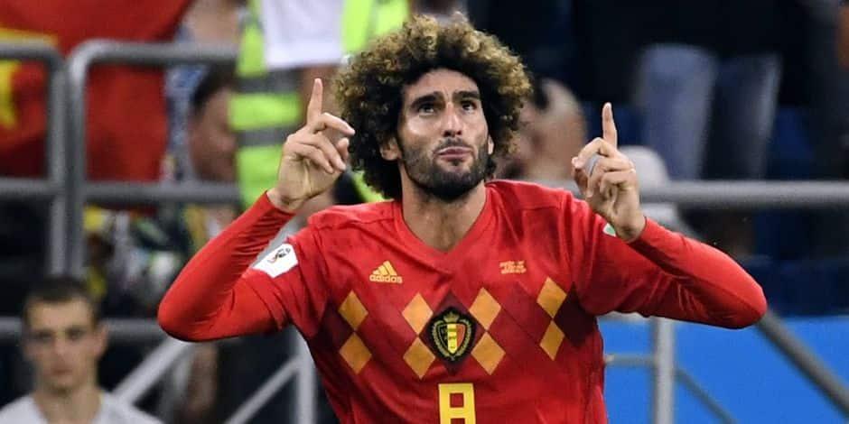 """Marouane Fellaini est notre invité du samedi: """"Une finale France-Belgique ? Ce serait magnifique"""""""