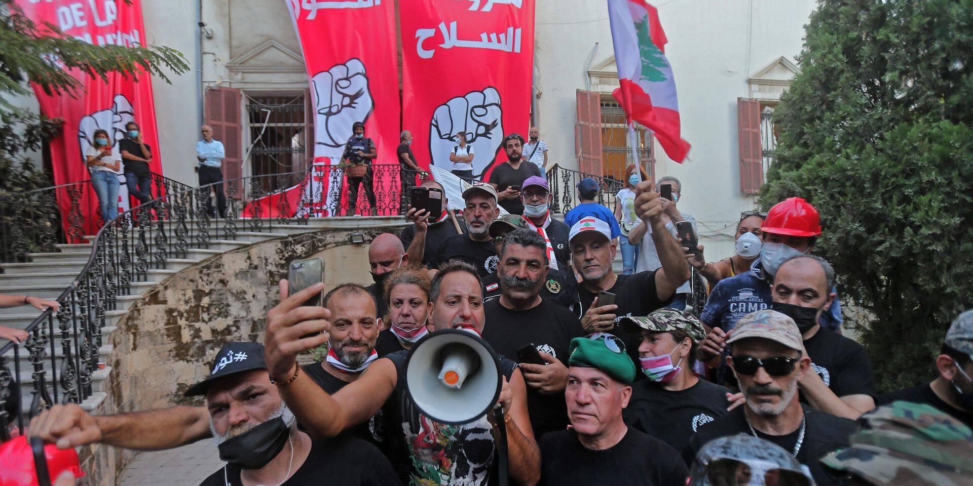 Liban: le Premier ministre annonce qu'il va proposer des élections anticipées après l'explosion meurtrière